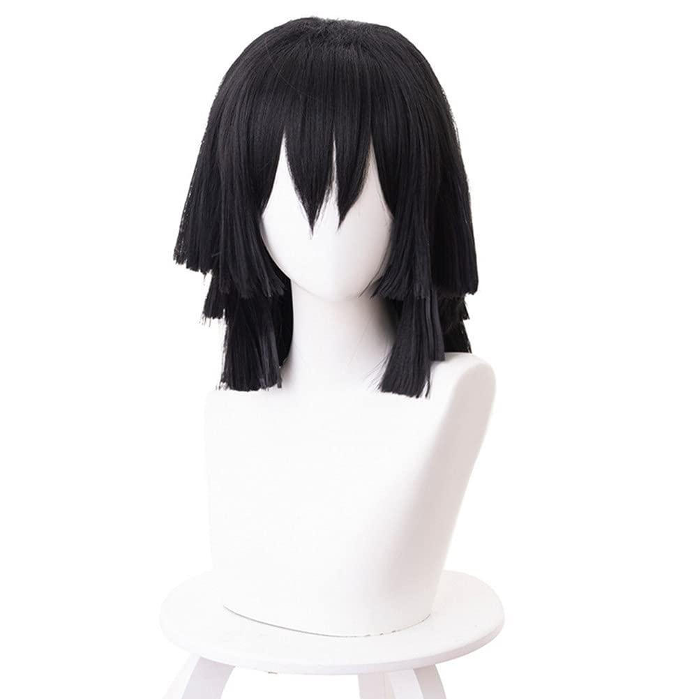 Under blast sales Aadesso Anime Iguro Low price Obanai Wig Costume no Yaiba Kimetsu Cosplay