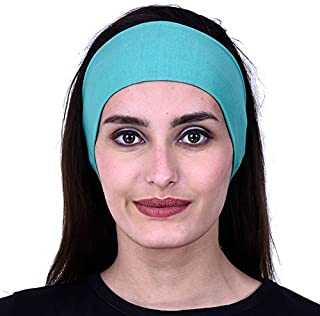 GIRRIJA Men's Cotton Gym Headbands (Multicolours, Free Size)