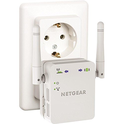 Netgear Products WN3000RP-200GRS WLAN Repeater N300 W-LAN