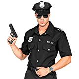 Widmann 09062 - Camiseta de policía para adultos, hombre, color negro, talla L/XL , color/modelo surtido