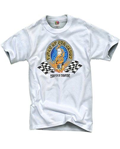 Pilgrimz Men's 'Fired Up for Jesus' Graphic T-Shirt XX-Large, White