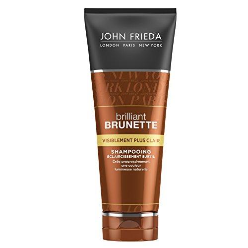 JOHN FRIEDA Brilliant Brunette Shampoo Visiblement Plus klar, 250 ml