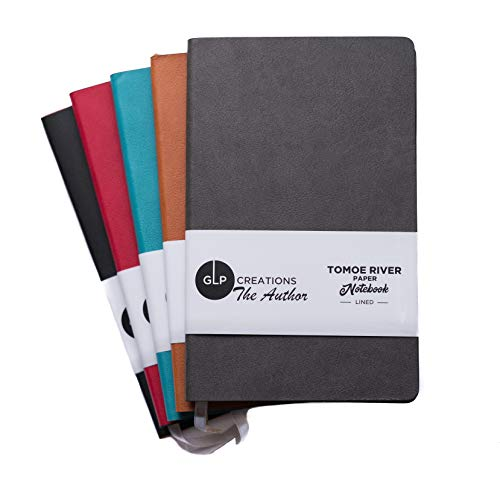 GLP-Creations The Author Tomoe River Notebook (Black/Dot Grid)