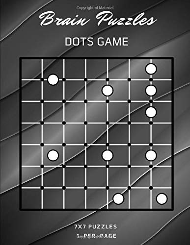 Brain Puzzles Dots Game: Difficult Logical To Challenge Your Brains Games Connect The Dots To Make Edges So That Each Circle Puzzle Is Completely ... For Adults, Kids And Everyone. (Series 18)
