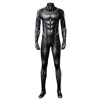 Adult Kids Black Muscle Battle Suit Costume Halloween Cosplay Costume Black Zentai Jumpsuit