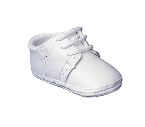 LITTLE THINGS MEAN A LOT Baby Boys Saddle Oxford Crib Shoes