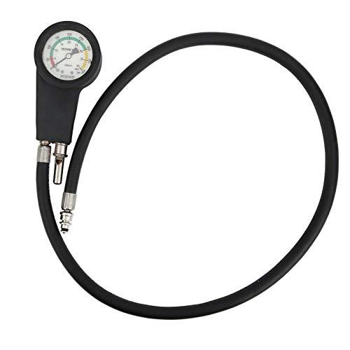 DSJSP Manómetro de Buceo , Rebreather de Aire Alarma de tubería de Alta presión Tubo de Alto Voltaje Manómetro Luminoso Longitud 35.4 in