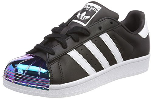adidas Women's Superstar Mt W Fitness Shoes, Black (Core Black/Footwear White/Supplier Colour 0), 3.5 UK