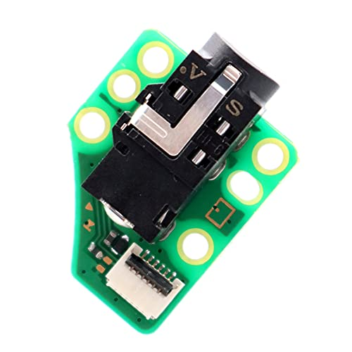 Deal4GO 3.5mm Headphone Audio Jack Port Socket Module Board HDH-HPMJ-01 Replacement for Nintendo Switch LITE Console HDH-001 (3rd Party)