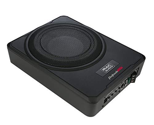 Mac Audio Flat Sub 25, Underseat-Subwoofer, 1 Stück, Farbe:Schwarz