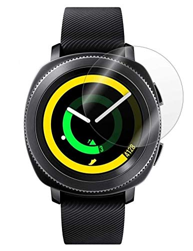 M.G.R.J® Tempered Glass for Samsung Galaxy Watch 42mm / Gear S2 / Gear Sport