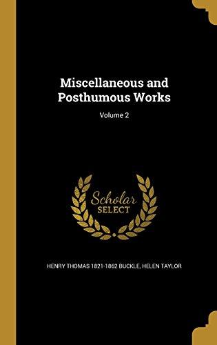 MISC & POSTHUMOUS WORKS V02