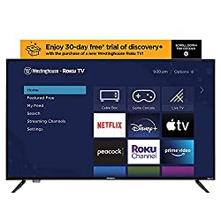 Westinghouse 43 inch Roku 4k Ultra HD LED Smart TV with HDR