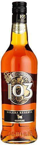 103 Etiqueta Negra, Solera Reserva Brandy de Jerez, Osborne, (1 x 0.7 l)
