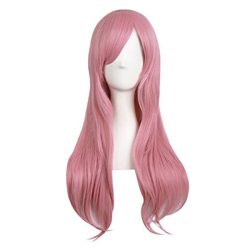 """MapofBeauty 28""""/70cm Women Side Bangs Long Curly Hair ..."""