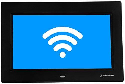 REMOTEDISPLAY 10'' con Wifi, nero