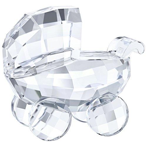 Swarovski Cochecito, Cristal, Transparente, 4,9x 3,3x 2,7cm