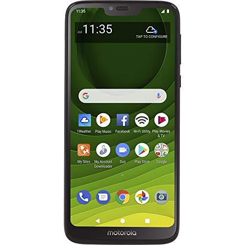 Tracfone Motorola Moto G7 Optimo Maxx 4G LTE Prepaid Smartphone (Locked) with $30 Airtime Bundle