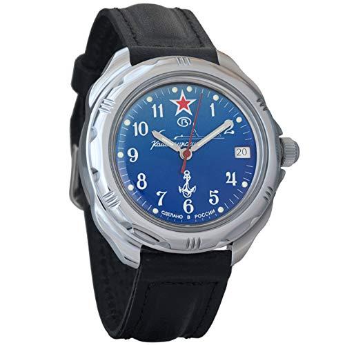 Vostok / Wostok Komandirskie 2414 211289 Submarine U-Boot Russisches Militär Mechanische Uhr