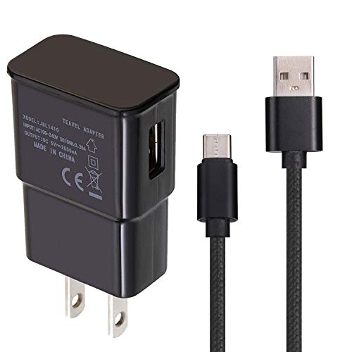 USB Charger Cable Compatible with ZTE Blade X Max, Data Transferring Sync Cords Grand X Max 2, X3, X4, Duo LTE, XL, ZMax Pro Z981
