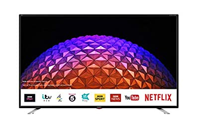 Sharp 2T-C40BG3KG2FB 40 Inch Full HD LED Smart TV with Freeview Play, 3 x HDMI, 2 x USB, Scart, USB Record Black by Sharp