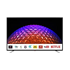 Sharp 2T-C40BG3KG2FB 40 Inch Full HD LED Smart TV with Freeview Play, 3 x HDMI, 2 x USB, Scart, USB Record Black