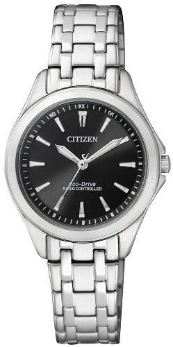 Citizen Damen Analog Quarz Uhr mit Edelstahl Armband ES4020-53E