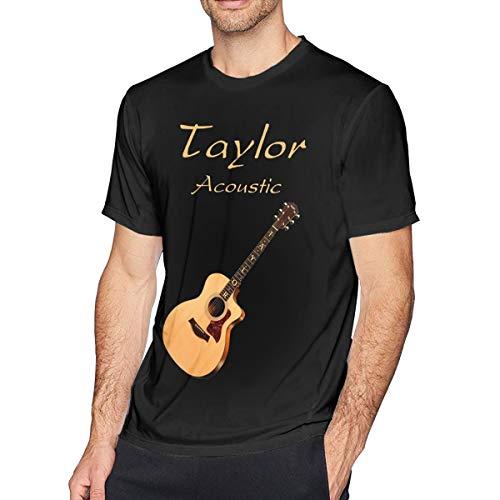 Men's Taylor Acoustic Guitar Perfect T-Shirt Black