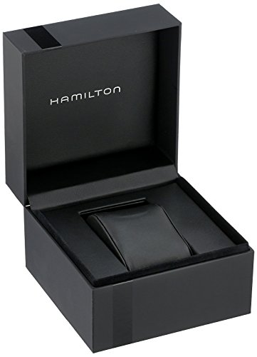 Hamilton Homme Analogique Automatique Montre avec Bracelet en Cuir H70455533