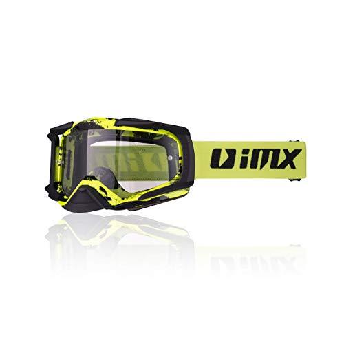 iMX Gafas DUST | Ahumado oscuro + visera transparente | Lent