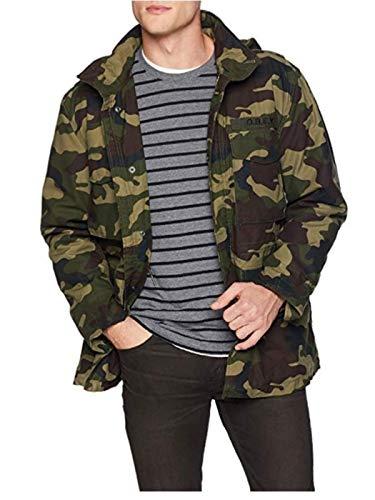 Obey Herren IGGY Insulated Military Jacket Isolierte Jacke, Feldcamo, Groß