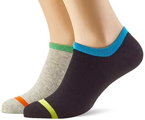 Scotch & Soda Classic Sneaker Socks Calze, Multicolore (Combo A 0217), 43/46 (Taglia Unica: 43-46) Uomo