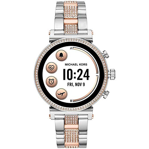 Michael Kors Access Women's Sofie Heart Rate' Touch-Screen Smartwatch with...
