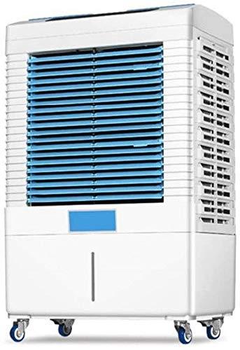 ZouYongKang Aire acondicionado, ventilador, refrigerador de aire del ventilador de Escritorio Super tranquilo, con control remoto, circulador de aire con 3 velocidades y 3 modo de viento, humidificado