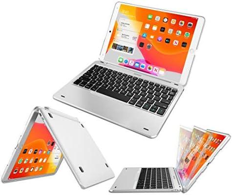 iPad 8th Gen 10 2 inch 2020 Keyboard Case Arteck Ultra Thin Bluetooth Keyboard with Folio Full product image