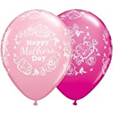 Happy <span class='highlight'>Mother</span>s <span class='highlight'>Day</span> Floral Damask <span class='highlight'>Pink</span> 11