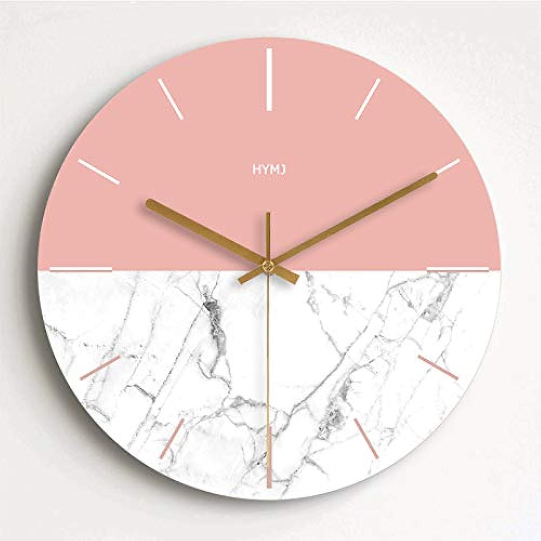 GZLIUXM Reloj De Parojo Moderno Minimalista Reloj De Moda Sala De Estar Reloj De Parojo Nórdico Creativo Personalidad Dormitorio Decoración Reloj De Cuarzo Imagen 14 Pulgadas