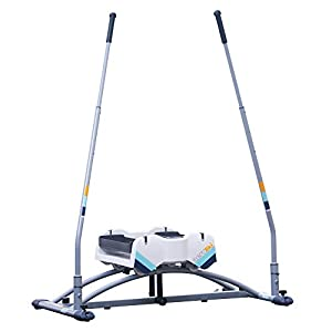 Aeroski 2.0 Ski Fitness Machine - Upgraded with New RSR (Recoil Spring Resistance) Tech. Lose Weight + Tone Muscles. Total 3D SKI Experience with Free VR Headset, VR Fitness App & Bonus Ski Poles Set