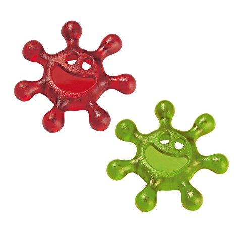 Koziol Kapselöffner One Size Transparent Olive Green/Red