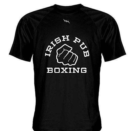 LightningWear Irish Pub Boxing T Shirt Black Medium