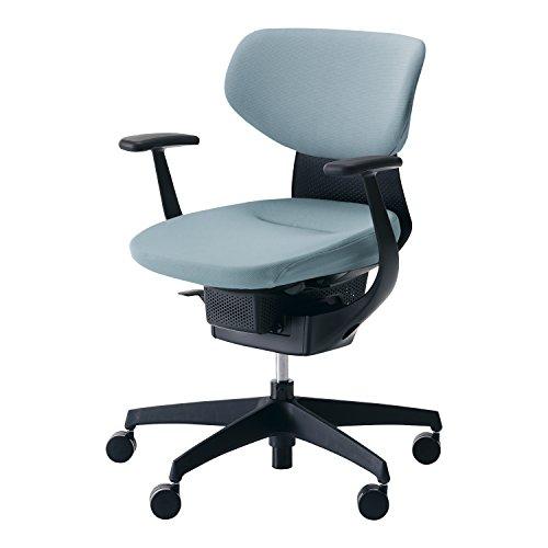 コクヨ イング イス アッシュターコイズ クッションタイプ デスクチェア 事務椅子 座面が360°動く椅子 CR-G3201E6G439-VN 【ラクラク納品サービス】