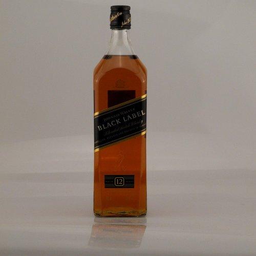 Johnnie Walker 12 Jahre Black Label 1,0 Liter