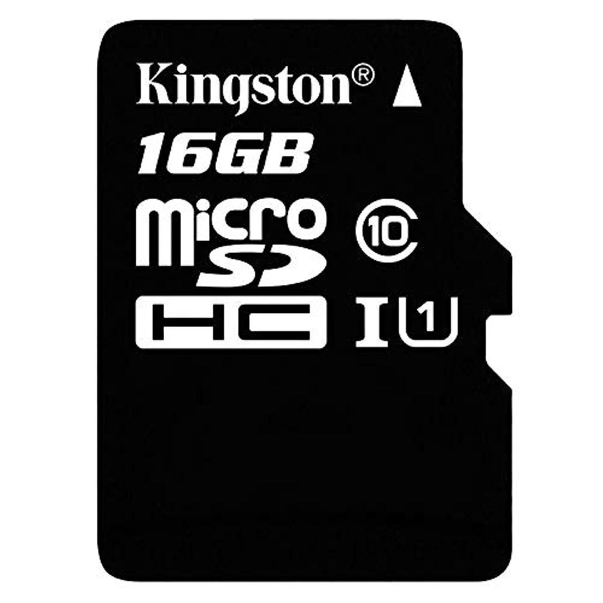 マウスわずかにパースProfessional Kingston 16GB サムスン SM-J810F MicroSDHC カード カスタムフォーマットと標準SDアダプター付き (クラス10、UHS-I)