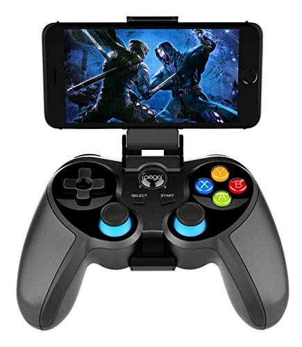 PG-9157 Wireless 4.0 Mobile Intelligent Network Gamepad, The Game Controller is Compatible with Android 6.0 and Higher System Mobile Smart Phones/Tablets (Does not Support MediaTek chip Phones)