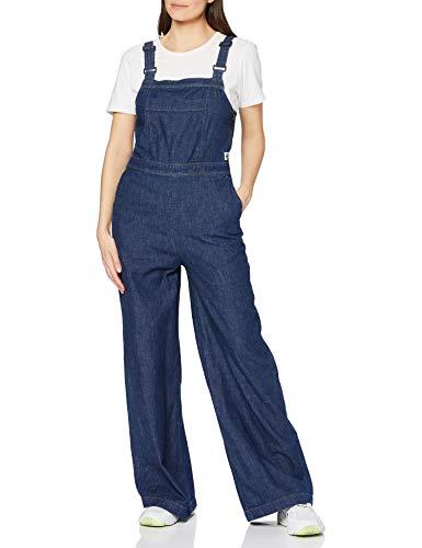 G-STAR RAW Damen Jumpsuit Bristum Service Overall, Blau (Indigo Dk Aged D013-9115), Small