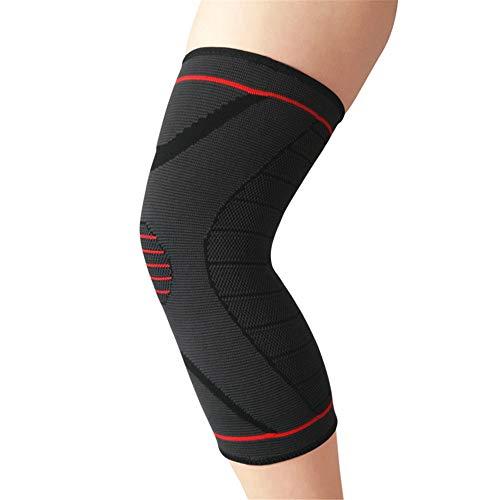 Huangjiahao Ginocchiere Ginocchiere per Pallacanestro Pantaloni Sportivi Calzini Cura Protezioni per Polpacci Attrezzature per Equitazione Estiva. per Allenamento e Protezione (Size : M)