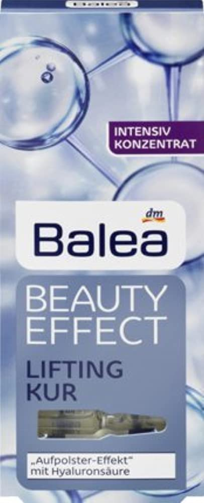 プランタータバコ試用Balea Beauty Effect Lifting Kur, 6er Pack (6x7x1ml)