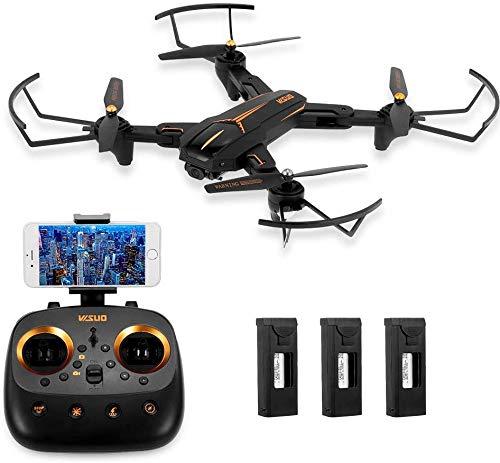 GPS-drone met 4K-camera voor volwassenen, 5G WiFi FPV Live video GPS Terug naar huis 30 minuten vliegtijd Follow Me RC Professionele quadcopter voor volwassenen, met twee batterijen