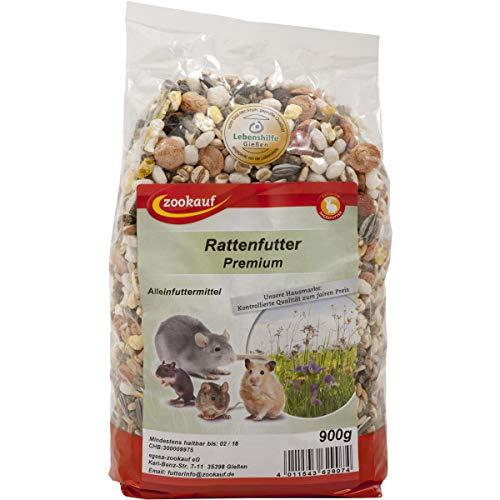 zookauf Nager Futter Premium für Ratten 900g