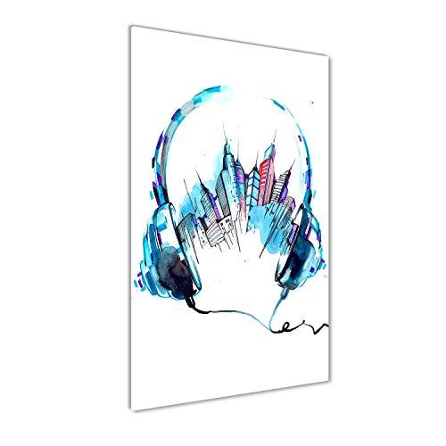 Tulup Impresión en vidrio - 50x100cm - Cuadro sobre Vidrio - Pinturas...